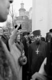 Преммьер-министр Великобритании Маргарет Тэтчер во время своего официального визита в СССР совершила поездку в подмосковный город Загорск, где посетила Троице-Сериеву лавру 1987