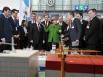 """Владимир Путин и канцлер Германии Ангела Меркель на открытии Международной промышленной ярмарки """"Ганновер-2013"""""""