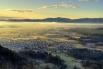 6. Вид на город Крань с горы Smarjetna gora, Словения. (Фото Mihael Grmek):