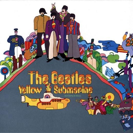 """В 1969 году Альбом Битлз """"Желтая подводная лодка"""""""