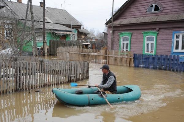 Паводок в Ярославской области