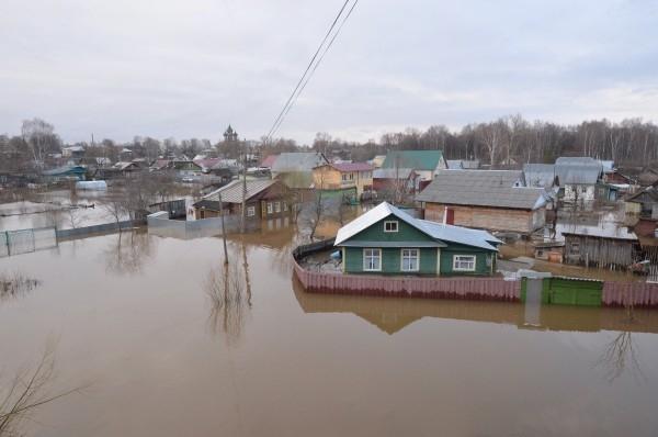 Паводок в Брянской области