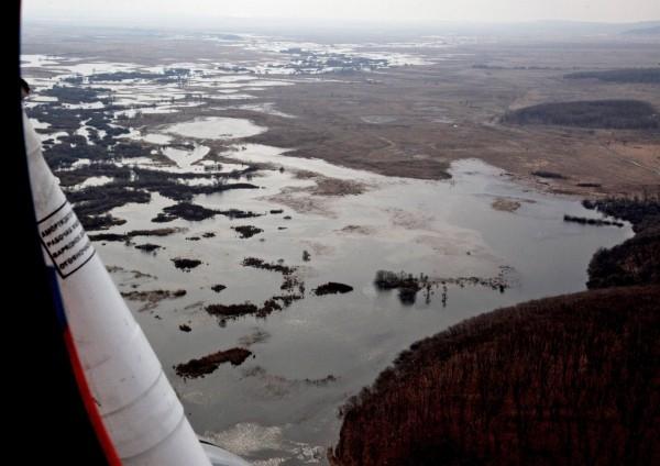 Разведка паводковой обстановки в Приморском крае