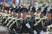 В конце церемонии состоялся торжественный марш роты Почетного караула 154-го отдельного комендантского полка.