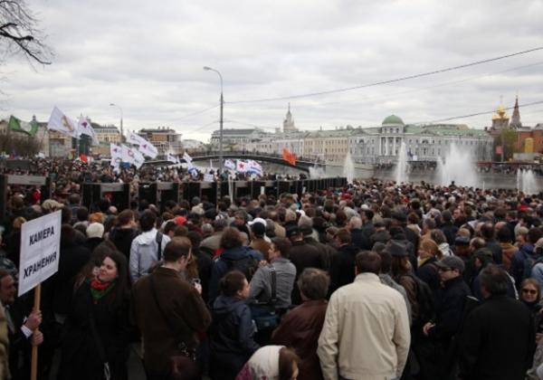 По предварительным подсчетам, в акции 6 мая 2013 года приняли участие около 10 тысяч человек.