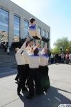 Артисты исполнили популярные танцы военных лет