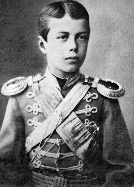 Великий князь Николай Александрович. 01.09.1870