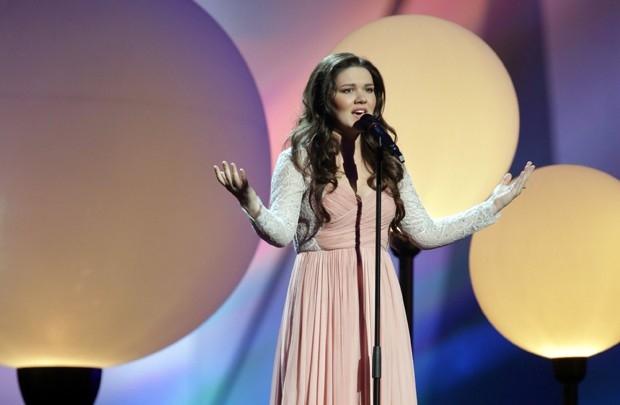 Представитель России певица Дина Гарипова спесней «What If» (Что, если...)