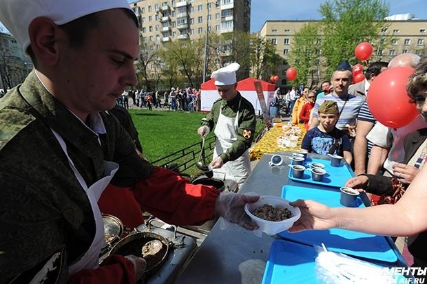 В этом году фронтовой едой угостили более 2 тыс. человек.