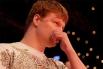 За боем наблюдал Александр Поветкин, выигравший свой поединок немного ранее