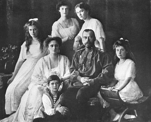 Царь Николай II и его семья в Санкт-Петербурге. Начало 1910-х гг. 1910