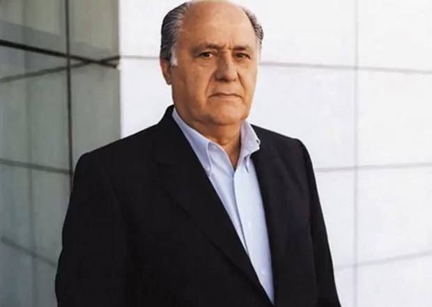 4. Четвертая строчка рейтинга досталась основателю торговой империи Inditex Амансио Ортега. Его состояние составляет 56 млн долларов.