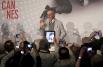Стивен Спилберг отвечает на вопросы журналистов