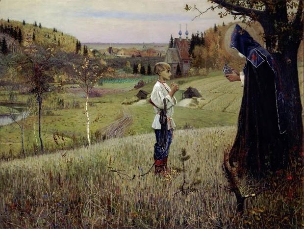 «Видение отроку Варфоломею», Михаил Нестеров, 1889-1890 годы