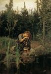 «Алёнушка», Виктор Васнецов, 1881 год