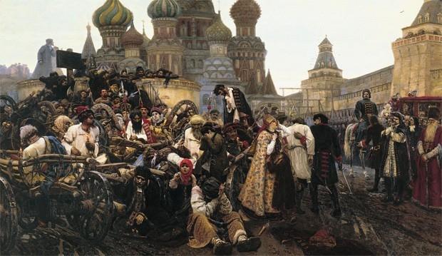 «Утро стрелецкой казни», Василий Суриков, 1881 год