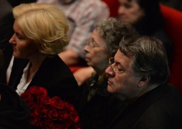 Вице-премьер РФ Ольга Голодец и актер Александр Ширвиндт
