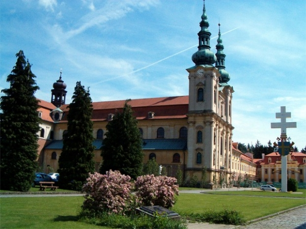 Базилика Вознесения Девы Марии и святых Кирилла и Мефодия в Велеграде, Чехия.