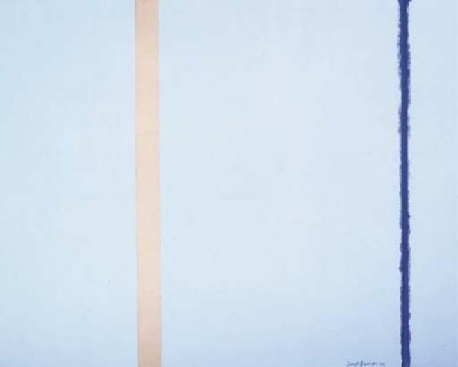 «Белый огонь I»  Барнетт Ньюман — $3 800 000