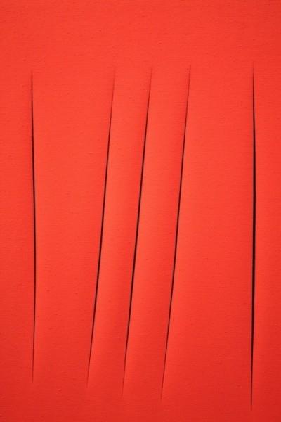 «Пространственная концепция»  Лучо Фонтан — $1 500 000