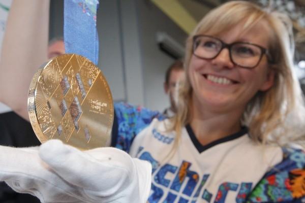 Золотая медаль Паралимпиады-2014