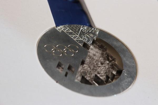 Серебряная медаль зимней Олимпиады-2014