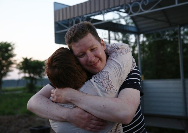 Алексей Козлов (с супругой Ольгой Романовой