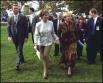 Первые леди США (Лора Буш) и России (Людмила Путина) в 2002 году