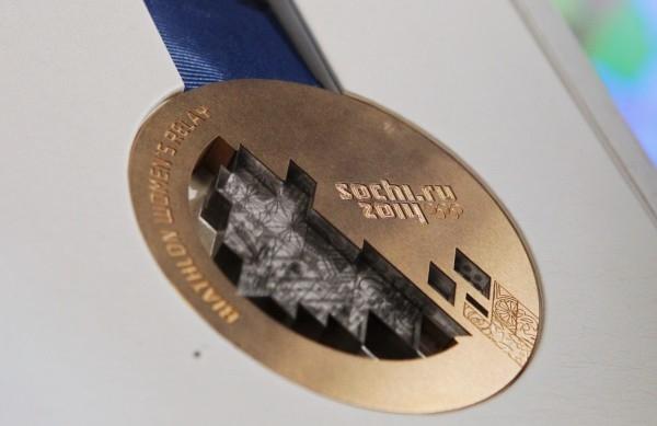Бронзовая медаль зимней Олимпиады-2014