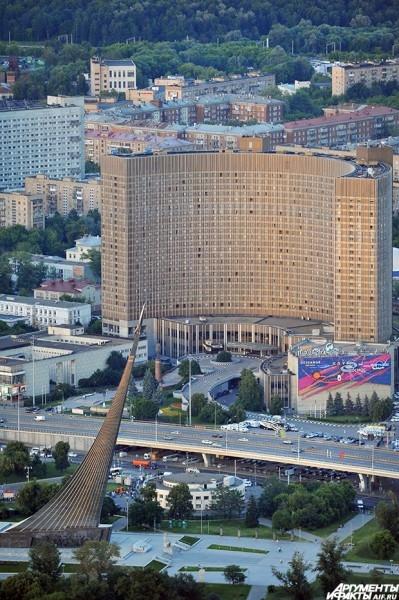 Гостиничный комплекс «Космос» был построен для обслуживания XXII летних Олимпийских игр, проходивших в Москве в 1980. В фильме «Дневной дозор» (2005 г.) гостиница была штабом темных сил. Часть съёмок производилась в гостинице.