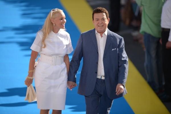 Певец Иосиф Кобзон с супругой Нинель Дризиной