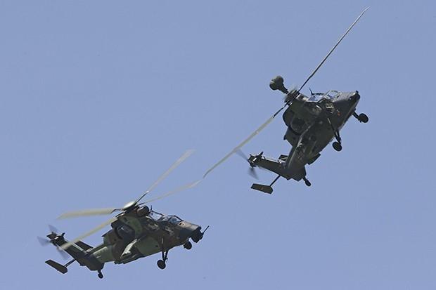 Еврокоптер Тигр (англ. Eurocopter Tiger) — современный ударный вертолёт, разработанный франко-германским консорциумом Eurocopter.