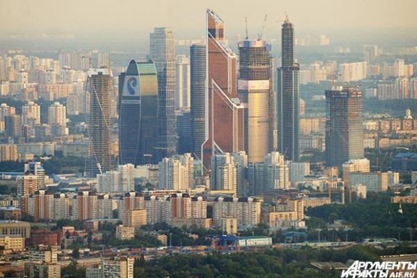 Московский международный деловой центр «Москва-Сити». В рамках ММДЦ «Москва-Сити» создаётся зона деловой активности, которая объединит бизнес, апартаменты проживания и досуг
