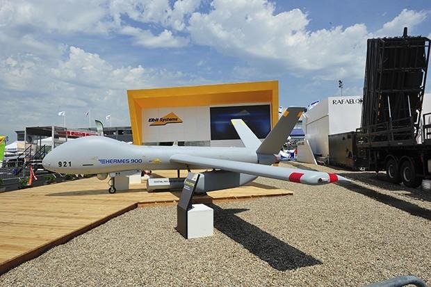 Новый тактический беспилотник Hermes 90, способный продержаться в воздухе до 18 часов в радиусе до 100 километров от оператора без необходимости в приземлении