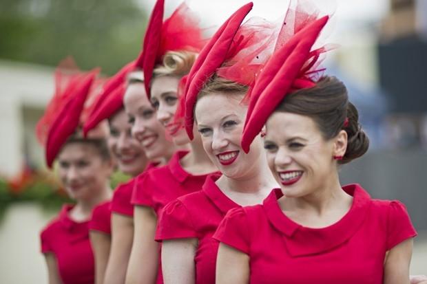 Гостьи церемонии открытия скачек Royal Ascot