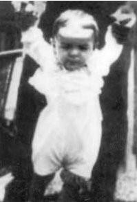 Че Гевара в возрасте одного года, 1929 год