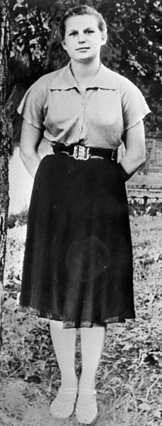 Валентина Терешкова. 1960г.