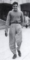 Эрнесто в Мар-дель-Плата (Аргентина), 1943 год