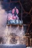 """Немецкая группа Rammstein выступает на фестивале """"Рок над Волгой"""" у поселка Петра-Дубрава Самарской области."""
