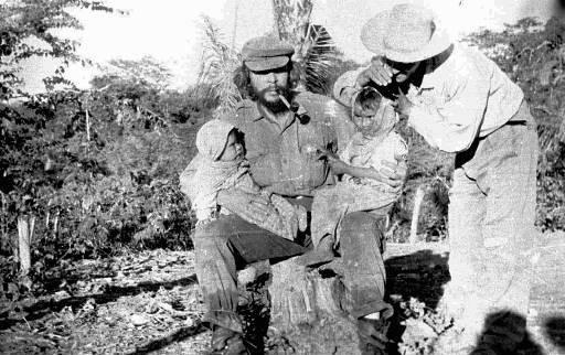 Че Гевара в Боливии, 1967 год.