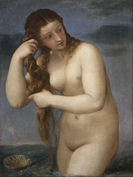 «Венера Анадиомена» (1520)