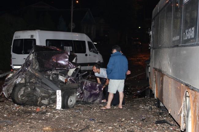ДТП произошло около 21.30 мск на улице Танкистов.