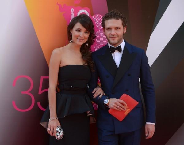 Актер Константин Крюков с женой Алиной