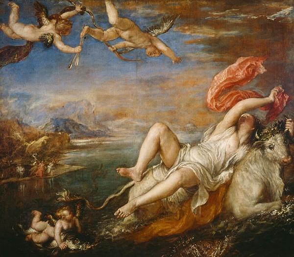 «Похищение Европы» (1562)