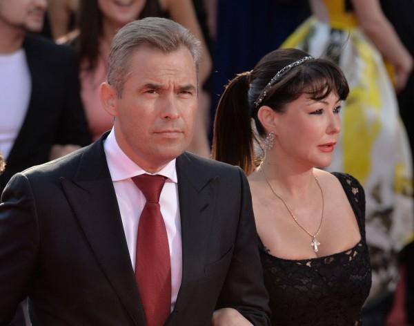 Уполномоченный при президенте РФ по правам ребенка Павел Астахов с женой Светланой