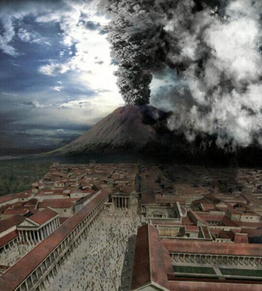 Вулкан Везувий (Наполи, Италия) - также считается одним из самых мощных и опасных вулканов мира. Везувий является одним из трёх действующих вулканов Италии.Имеются сведения о более чем 80 значительных извержениях.