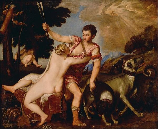 «Венера и Адонис» (1554)