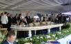 Президент России Владимир Путин  на московском ипподроме на юбилейных скачках на приз Президента России.