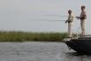 В 2011 году Владимир Путин и Дмитрий Медведев провели часть своего отпуска в Астраханской области, где рыбачили на Волге.