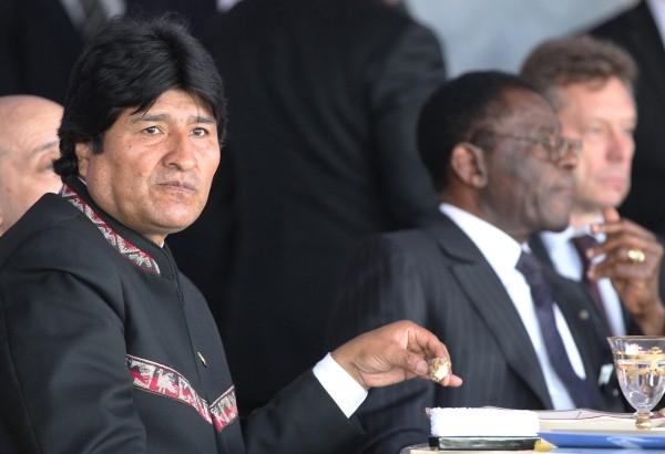 Президент Боливии Эво Моралес Айма
